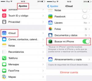 Como localizar un iphone utilizando la aplicacion preinstalada