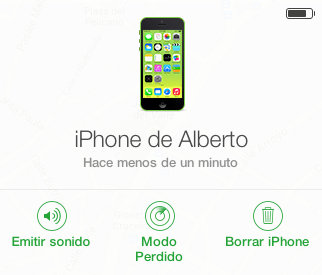 localizar iphone con iCould