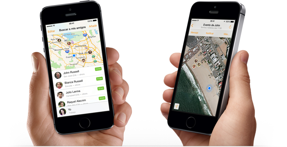 localizar iPhone 5