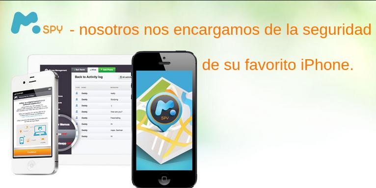 Localizar iPhone con mSpy es mas que sencillos