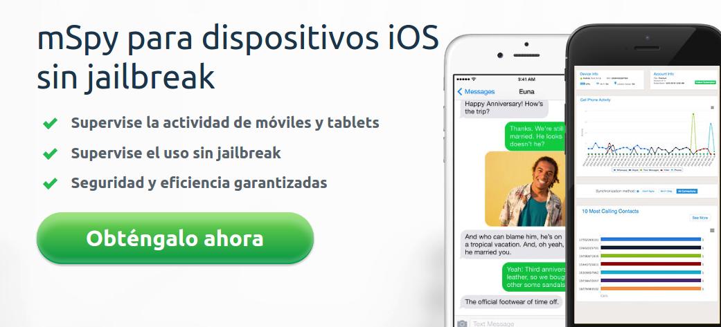 localizar un iPhone sin jailbreak es posible con mSpy!