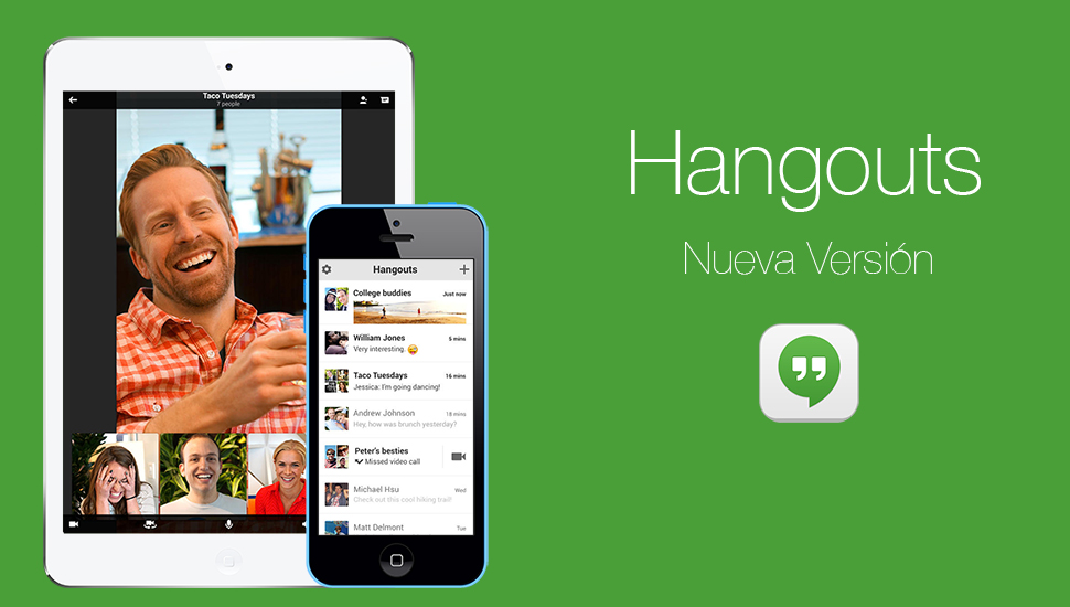 Espiar Hangouts iPhone