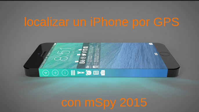 localizar un iPhone por GPS�