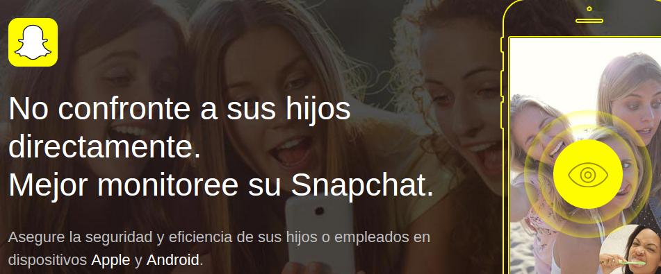 espiar Snapchat Messenger con mSpy