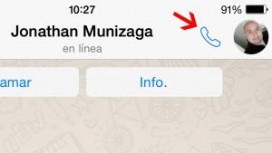 espiar las llamadas de WhatsApp en un IPhone